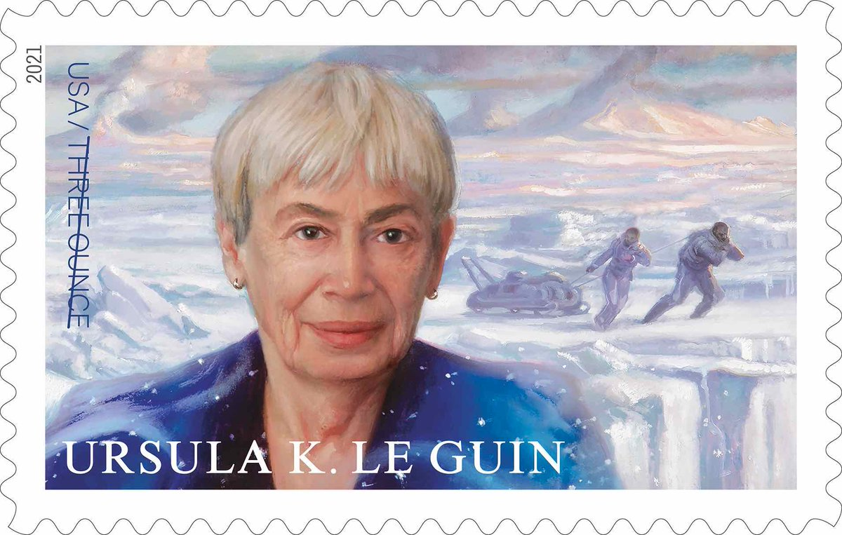 Pioneering sci-fi author @UrsulaKLeGuin gets her own US postage stamp! @USPS is also releasing colorful #stamps featuring stunning views of the #Sun from @NASASun! Read more in my @CNET article here:
