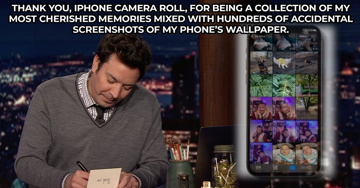 🔁 RT if there are too many for you to delete! #FallonTonight