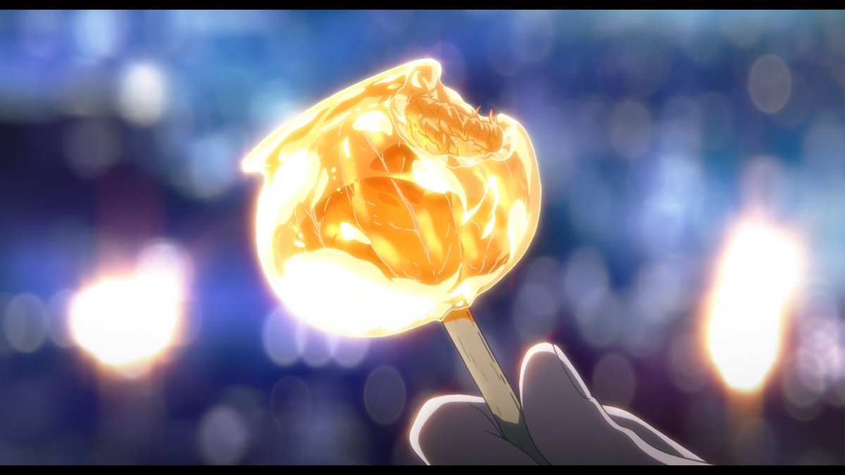 i am obsessed with this incredible candy apple in the sound! euphonium movie, kyoani really are gods