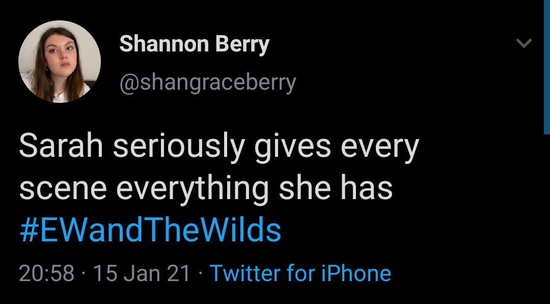 yes shannon, sarah and sophia are girlfriends #EWandTheWilds