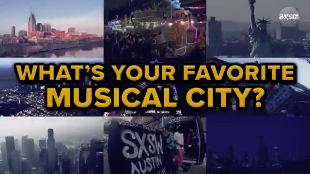 Do you know what city has the most music venues?  Go coast to coast with AXS TV: