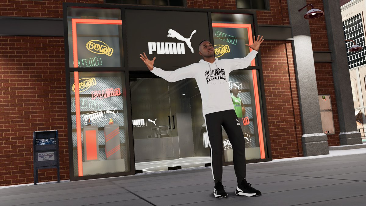 Replying to @NBA2K: Puma Mania starts tomorrow 🔥  Rock a Puma top or shoes to multiply your Rep