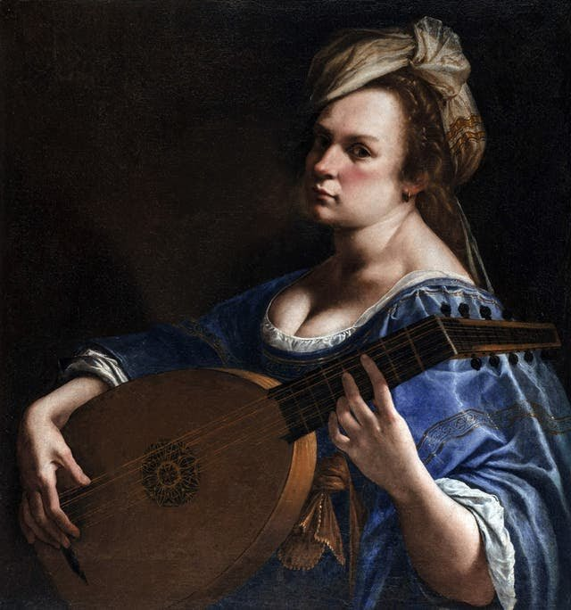 Artimesia Gentileschi, was an artist & the daughter of a painter from the 17th century, Gentileschi's talent was recognised early on by her father & she later became the first woman member of the Accademia di Arte del Disegno in Florence.🕊️  #art #femaleartist #history #artists