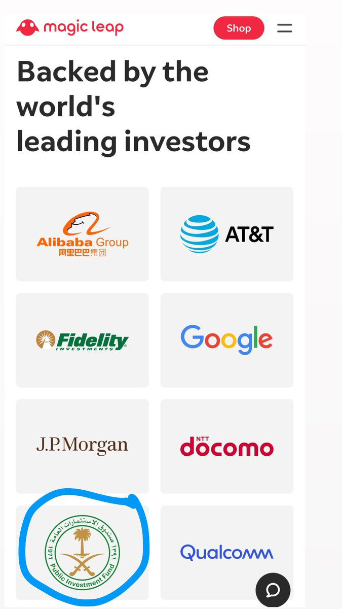 $CCIV final bit of DD from me for the weekend.  ANOTHER link between Lucid & CCIV.  Peggy Johnson: Operating Partner at CCIV and CEO of Magic Leap    Look who are investors in Magic Leap -  Saudi PFI, who just invested $1bn in Lucid!