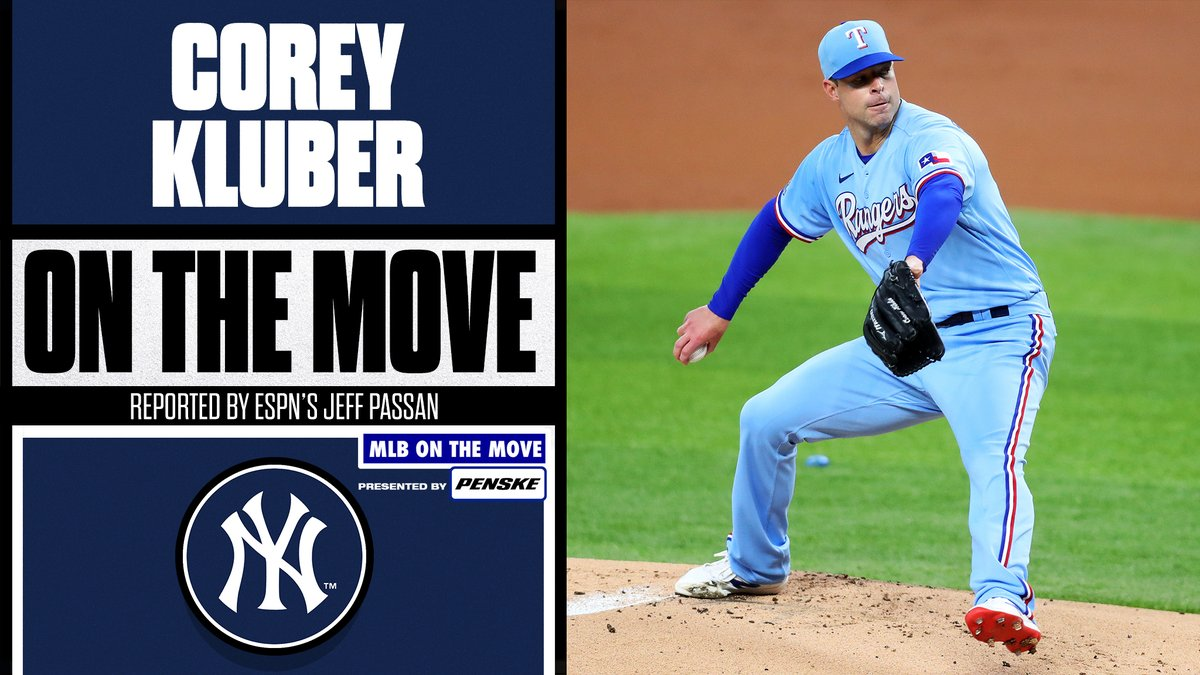 Corey Kluber is Bronx bound.  Yankees reportedly finalizing deal with the 2-time Cy Young winner, per @JeffPassan.