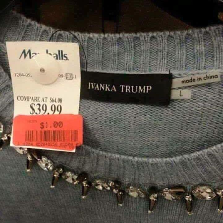 Great time to buy Ivanka merchandise
