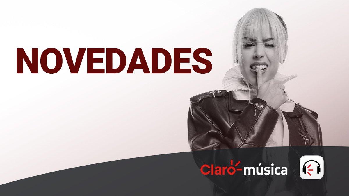 Replying to @dannapaola: K.O.#KO 🥀 en @Claromusica @ClaromusicaMX y tenemos portada de #Novedades 🎧