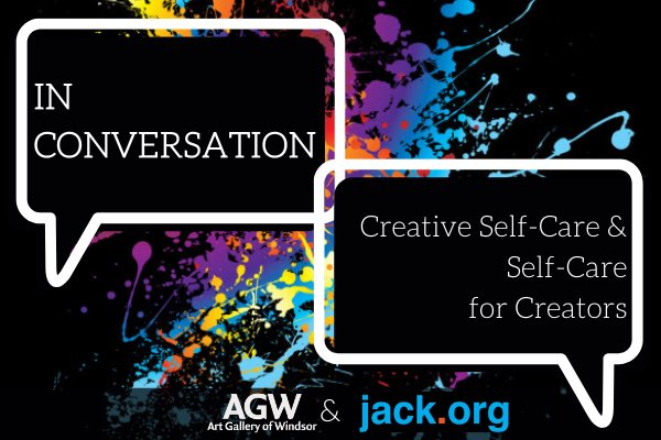test Twitter Media - Friday night panel with @kwillism @Jennyleealmeida &  @AGW401 @jackdotorg   In Conversation: Creative Self-Care & Self-Care for Creators   Kudos to our dedicated team - helping many #keepconnected ;new reality for a start to a weekend.   Call 519-973-4435 - if need help now. https://t.co/VWQ4iJf1cL