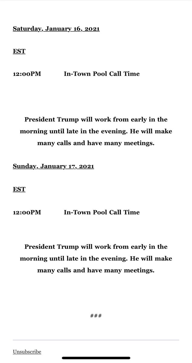 Replying to @maggieNYT: Final weekend