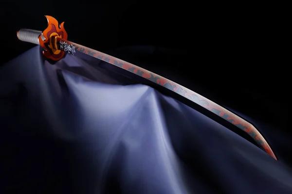Rengoku from Demon Slayer: Kimetsu no Yaiba gets life-sized sword replica!  #鬼滅の刃 #DemonSlayer #kimetsunoyaiba #DemonSlayertheMovieMugenTrain
