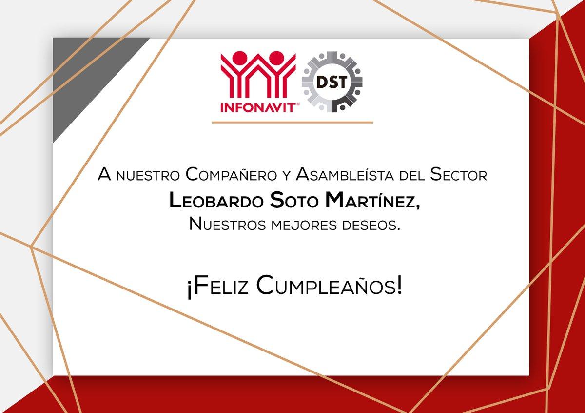 Estimado @leobardosoto, recibe una calurosa felicitación a nombre de todo el equipo de la #DST y su titular @MarioMaciasRobl. ¡Muchas felicidades!
