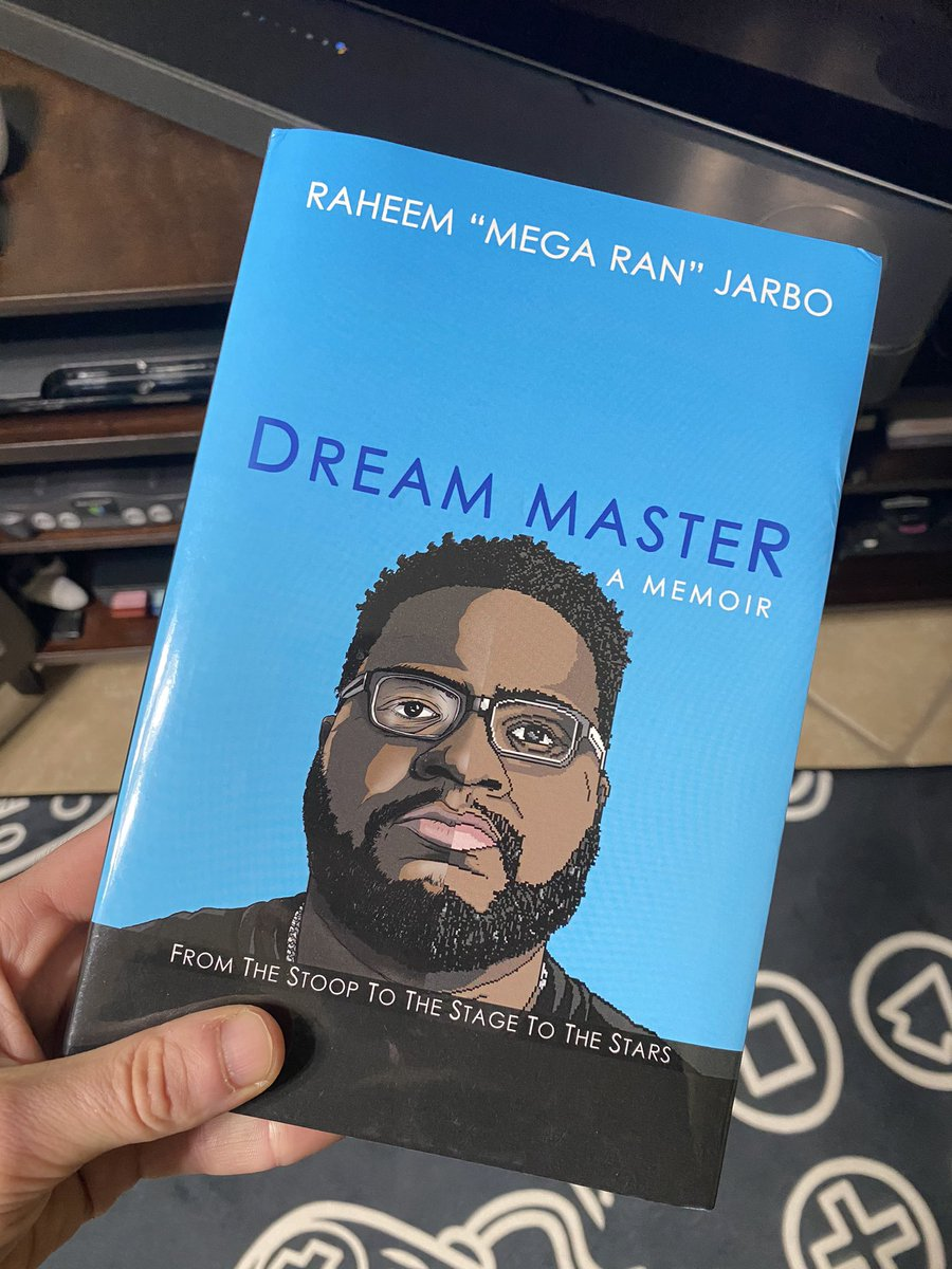 My man @MegaRan has a book out boys and girls, and I can't wait to read it! Congrats my friend! Loved this guy from the moment I heard his FF7 rap album...and he's an even better guy. 🙏
