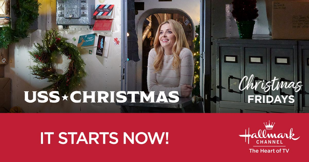 Come aboard for a Christmas story like no other as Maddie @jen_lilley solves a decades-old mystery romance, and may just discover a romance of her own. Christmas Friday starts NOW with #USSChristmas! @The_USO