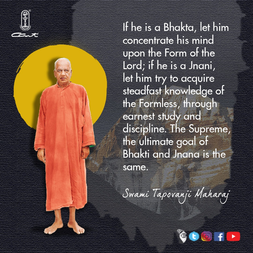 Bharatavarsha - the land of the greatest saints and warriors is the land of Dharma, #Bhakti and #Jnana. Today we celebrate the 64th Aradhana of one such great seer - Swami Tapovanji Maharaj, our Param Guru.  ⠀ #chinmayamission #sanatandharma #bharat s#thoughtfortheday
