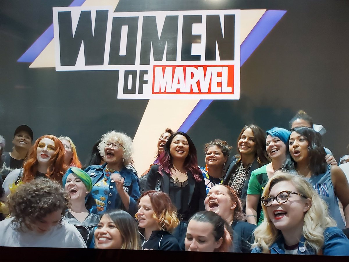 "I just finished watching the wonderful,  and uplifting  #Marvel616 documentary ""Higher,Further, Faster"" (Episode  2). The story of the past and current trailblazing women creators of #MarvelComics This is a must see. 👍🏾 👏👏🏾👏🏻  #DisneyPlus"