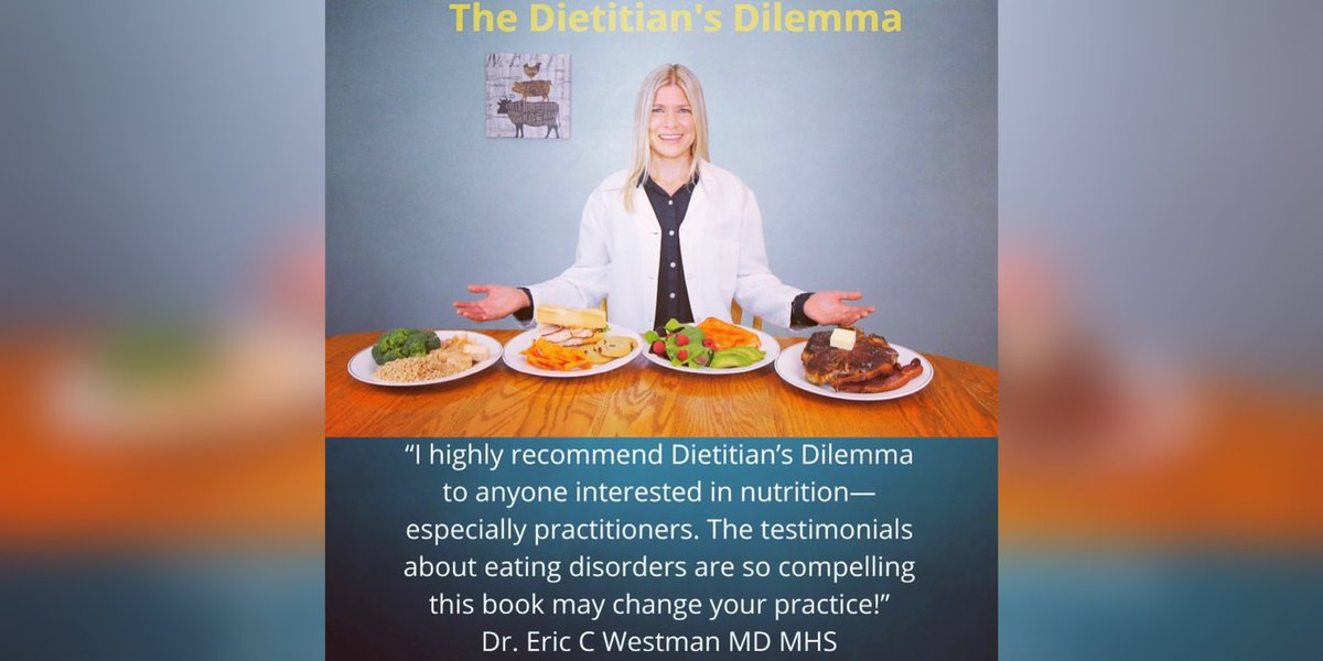 One of the highlights of 2020 was writing the Foreword for @MichelleHurnRD highly acclaimed book The Dietitian's Dilemma. A book of civil discourse, hope & healing. This is a book I wish I had at the start of my journey. Soon to be available for pre-order #BookClub https://t.co/9AFasERJig