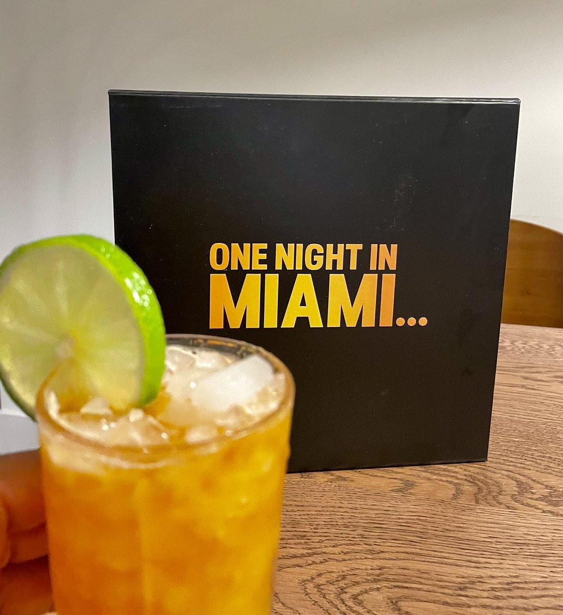 Miami Dark 'N Stormy... ✅ #OneNightInMiami