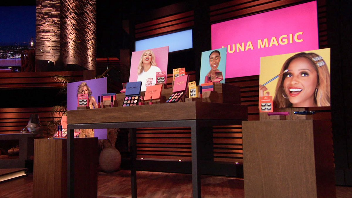 These women are amazing. They're enthusiastic, smart and savvy with their marketing techniques. #lunamagicbeauty #friassisters #beauty #sharktank @ABCSharkTank @lunamagicbeauty