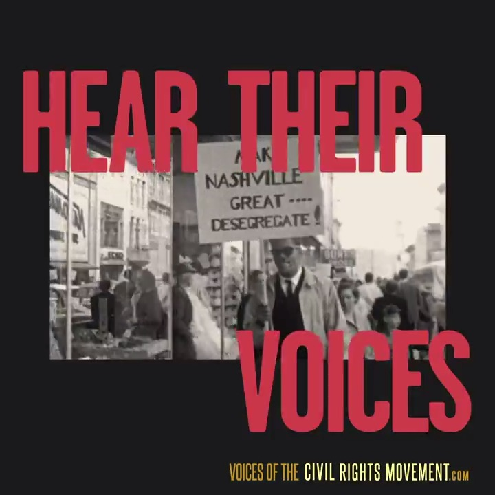 Hear the stories that changed history, and the ones that are making it today. Watch the full collection of Voices of the Civil Rights Movement here: