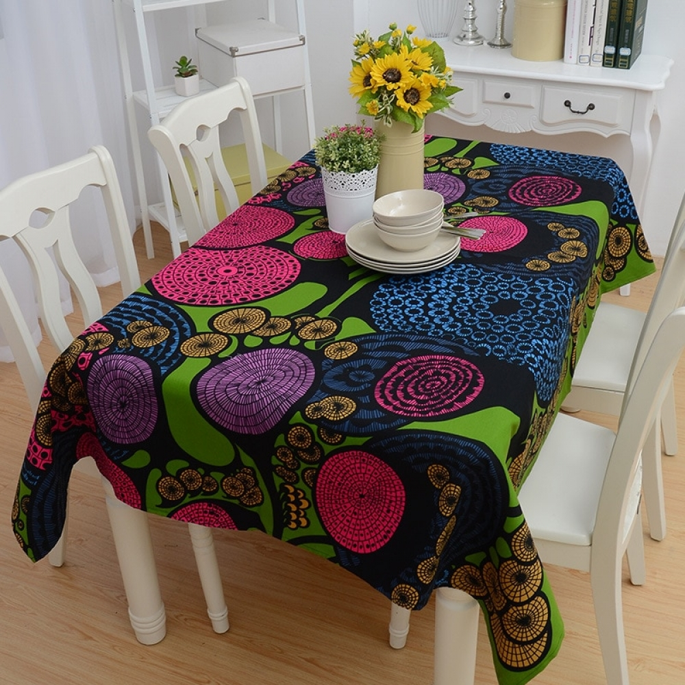 #amazing #instamood Abstract Pattern Cotton Tablecloth