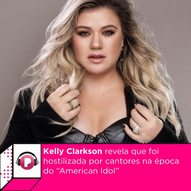 Tempos difíceis. #KellyClarkson revelaou que foi hostilizada por cantores na época em que era candidata no  #AmericanIdol. Veja o que ela contou: