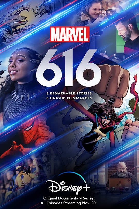 @alisonbrie I loved your episode of #Marvel616 on @disneyplus! I love acting, and I really wish I got the chance to act a Marvel play in high school. I was never really a fan of theater, but I've gotten into it more now in college. Great job capturing these students' stories!
