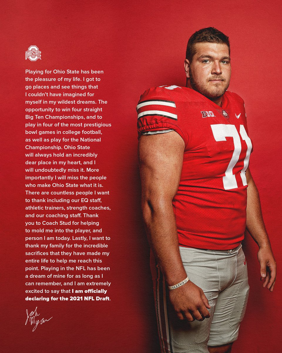 Thank you to the countless people who have helped make my dream a reality. Always a Buckeye❤️ https://t.co/b6Qm5lsg6z