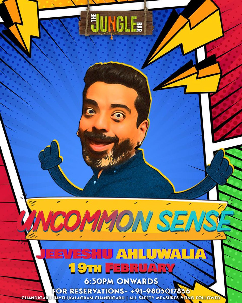 Chandigarh: Coming back to you on 19th Feb and have even weirder faces to make so get your tickets now!  Tickets at :