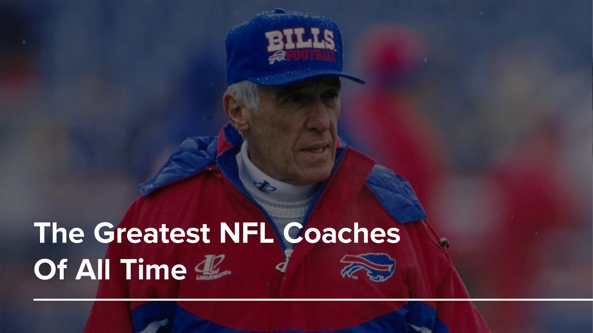 Marv Levy: Despite never winning a championship....wait, is that right? Okay, forget it. Levy shouldn't be on this list and he deserves to be forgotten by time.