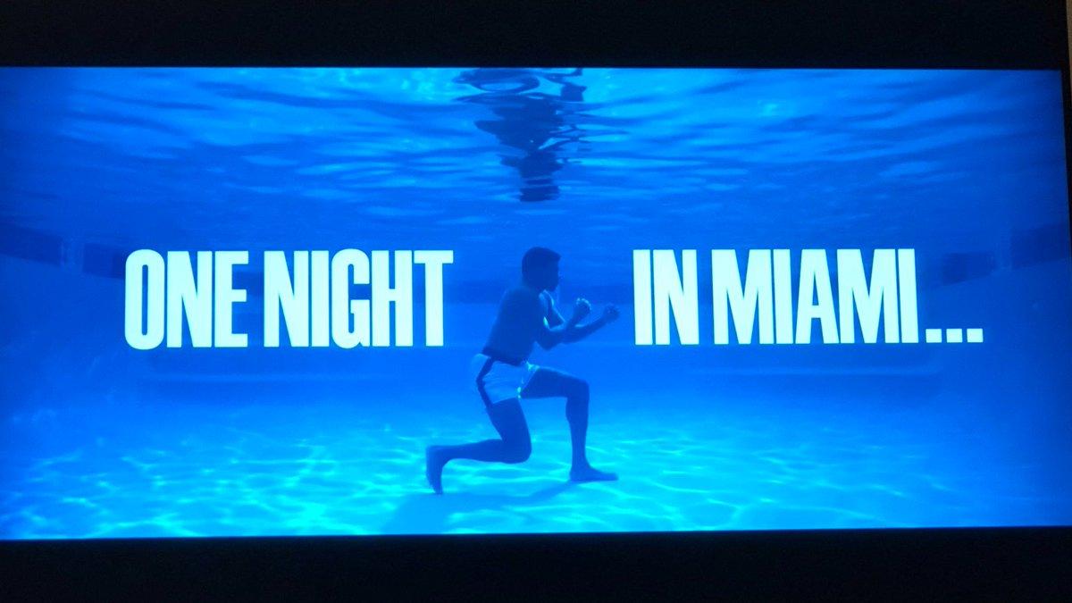 what a title shot 😍😍 @ReginaKing #OneNightInMiami