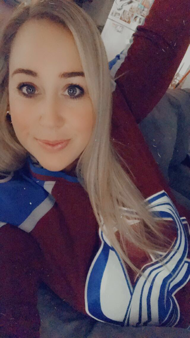 This little Aussie is ready! Let's do that hockey thing @Avalanche #GoAvsGo