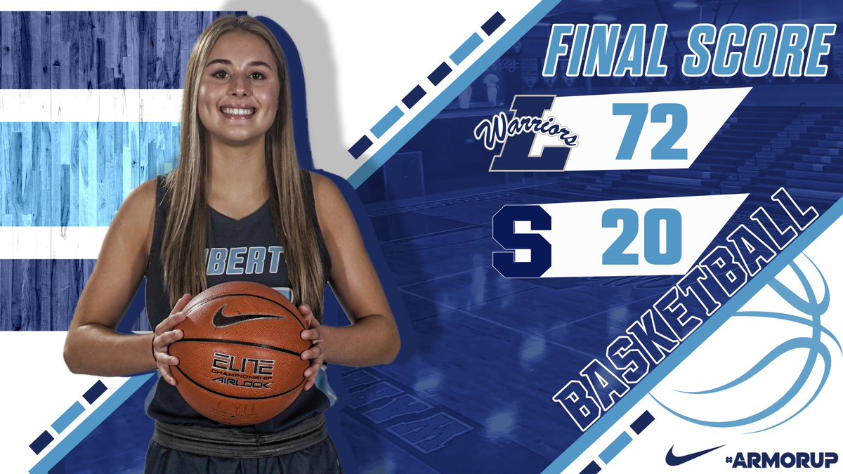 Lady Warriors down All Saints tonight in a district matchup.   #FORHIM  #ARMORUP