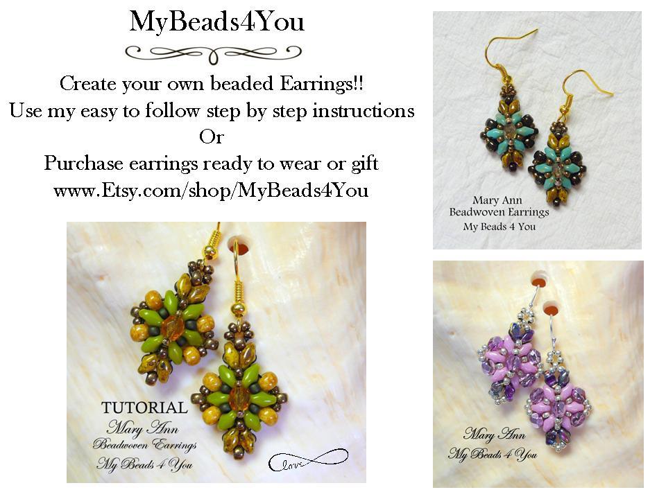 Pattern  Earrings   #etsy  #earrings #giftforher #TMTInsta #epiconetsy #handmade #beadwork #jewelrylovers #shopsmall #beading #bead #crafts #jewelry #etsyshop #etsyshop #beadedjewelry #etsyrt #stealsanddeals #patterns #jewelrypattern