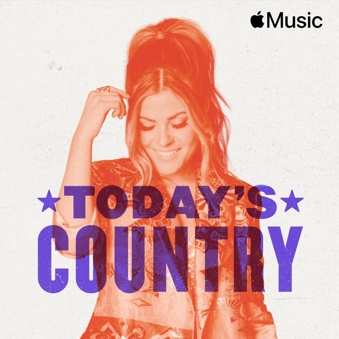 Replying to @TenilleArts: I listen to #TodaysCountry on @AppleMusic every. single. day. It's safe to say that being on the cover is a real dream come true. Thank you to everyone at #AppleMusic for featuring #SomebodyLikeThat 💜 Go check it out!!