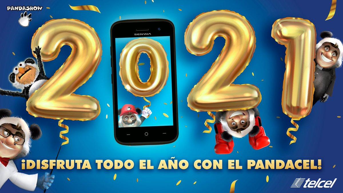 🎉📆Año nuevo, celular nuevo. En 2021 estrena el smartphone más chipocludo, ¡el Pandacel de @pandazambrano! Pídelo hoy en la Tienda en Línea Telcel:  🐼