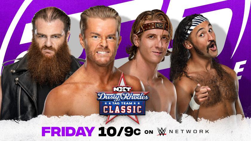 One hour until the #DustyClassic continues on #205Live!   If you don't watch, I will curse you with FOMO.
