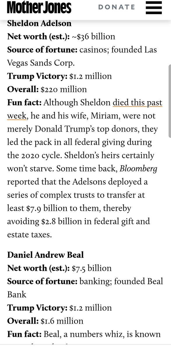 Sheldon Adelson (now deceased)& Daniel Andrew Beal https://t.co/pxcLW8fVNk