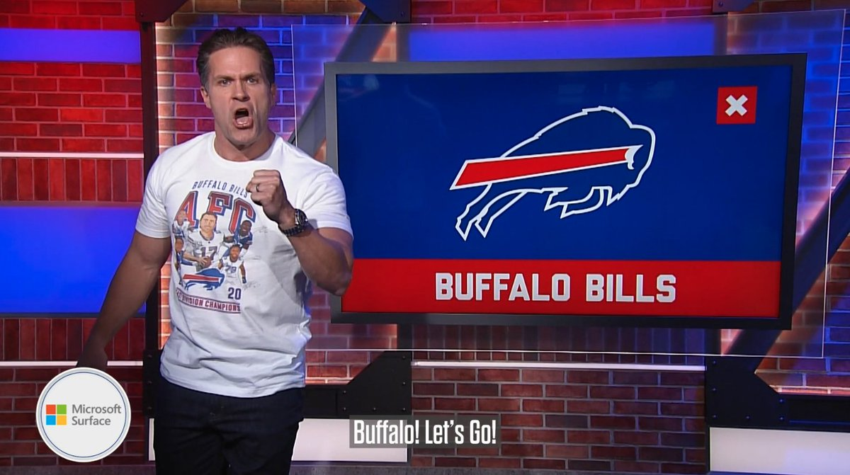 We have some unfinished business to take care of. 👊 #BillsMafia   @KyleBrandt | @Surface