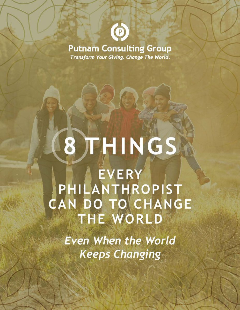 The future is uncertain, but you don't have to be. Learn 8 tips to create a powerful giving plan even when the world keeps changing   #philanthropy #charity #strategy