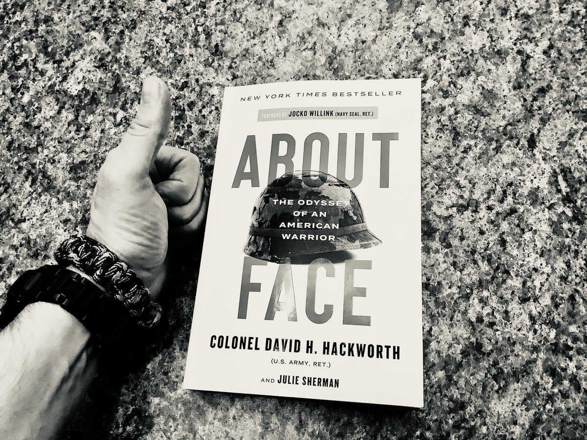 @jockowillink ... and THEN... grip #aboutface !  Wisdom through combat and #clothofthenation.