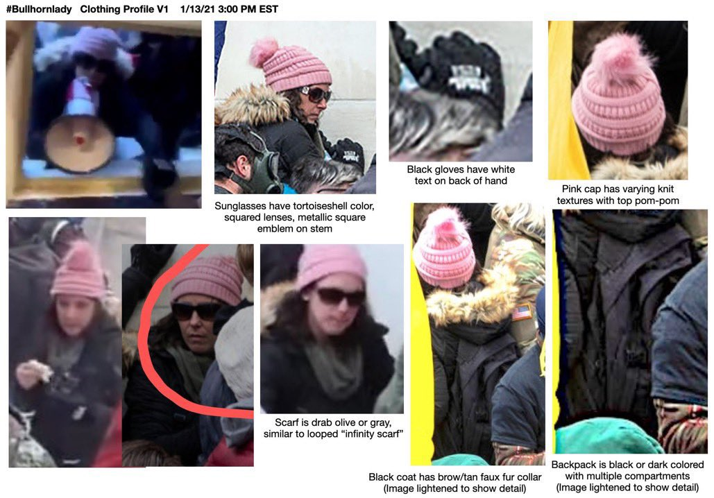This woman is coordinating the siege in the video above, very tactically.   The @FBIWFO and the Capitol police need help identifying her, please RT!   Have info? Call the FBI's Tipline at 1-800-CALL-FBI (1-800-225-5324)  @FBIWFO