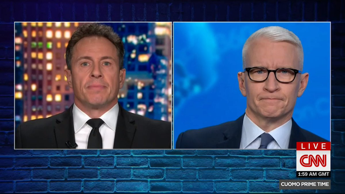 """""""This is the last Friday you will head into the weekend wondering what chaos Trump may cause as your President,"""" says @ChrisCuomo. """"As a parting gift, he's radio silent so far tonight."""""""