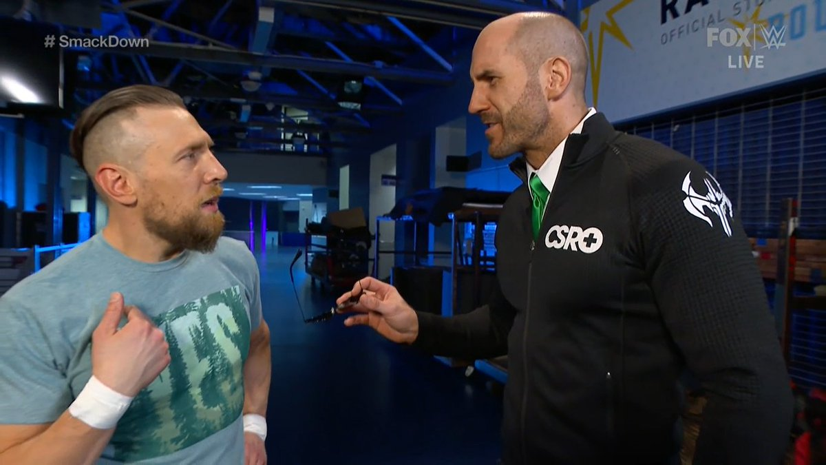 Continúa la acción en #SmackDown  BRYAN vs CESARO #SmackDownOnFox