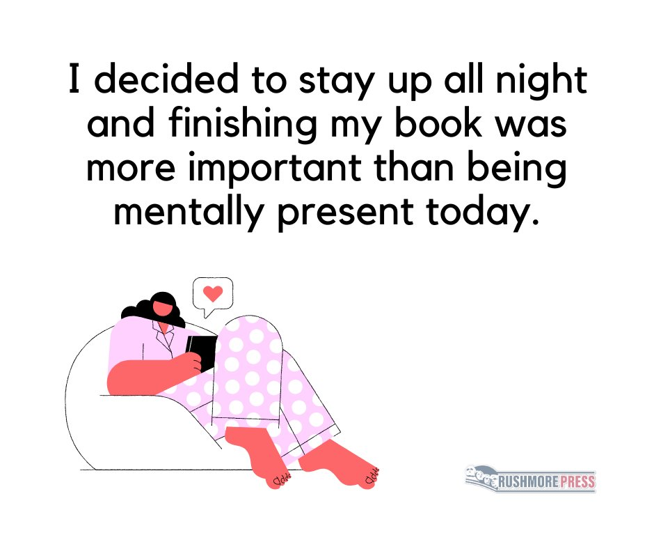 This is me deciding every night 😅  Happy Weekend Everyone!  Don't forget to follow us on our social media pages to get the latest book updates! 😊👍  #rushmore #rushmorepress #books #booklover #bookworm #bookaddict #bookcommunity #booknerd #bookclub #bookreview #bookgeek https://t.co/3GLlmXSTxm