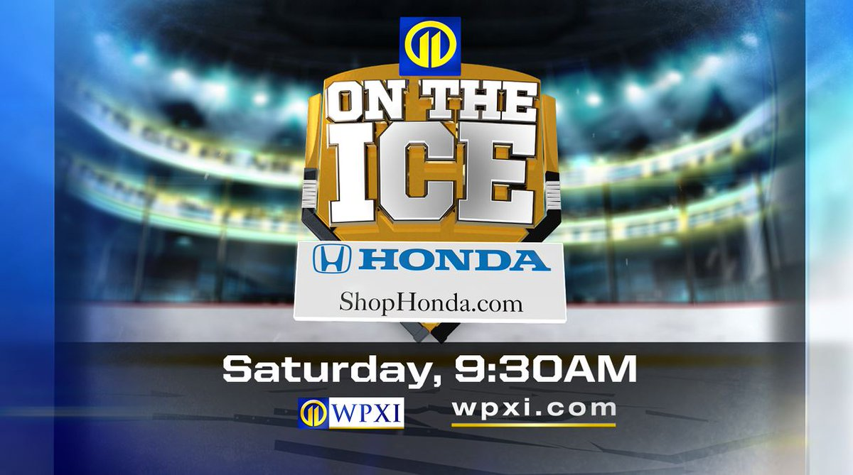 It's a hockey weekend in #Pittsburgh. 🏒 The puck drops on our 11 on the Ice coverage Saturday at 9:30 a.m. on Channel 11 - then Sunday the @penguins and @capitals face off at noon.  #letsgopens #penguins #pens #wpxi @Honda