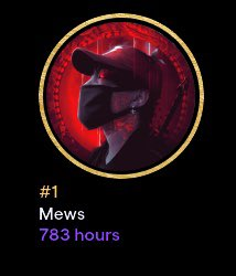 FaZe Mew - Who has more hours watched in my stream? I'm gonna have to send you something.. 😳  (This is picture is from @elijah8k, he's the highest so far that I've seen)