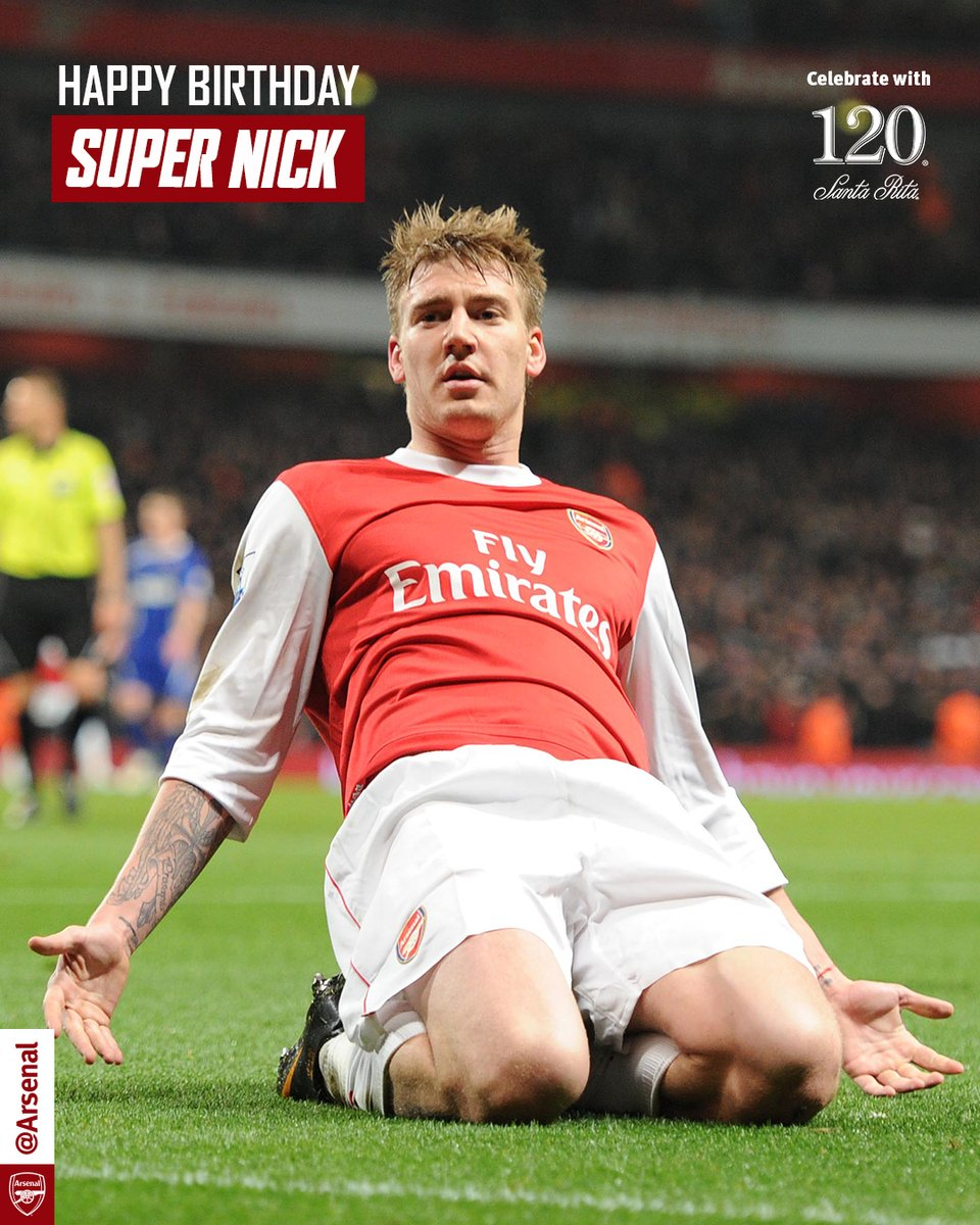 Happy birthday to the Lord! 👑  Nicklas Bendtner turns 33 today 🎈
