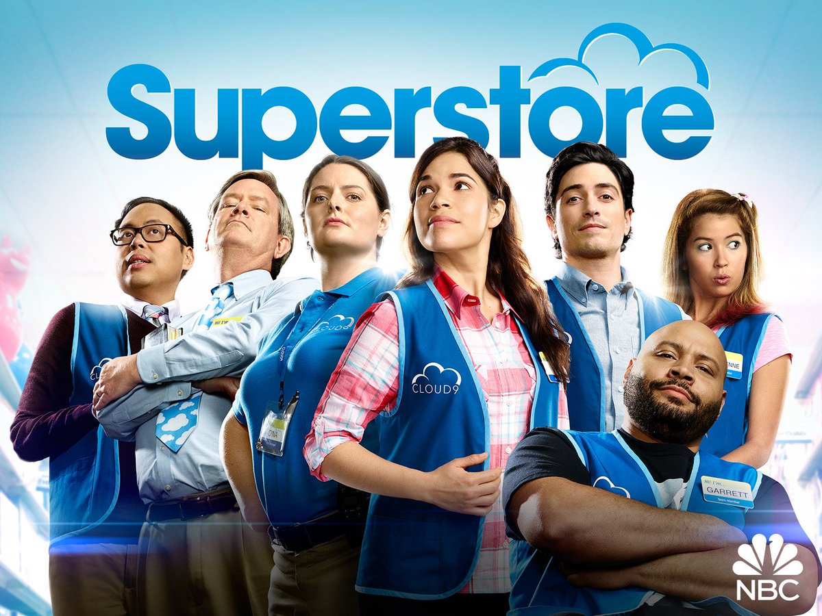 "Watching @NBCSuperstore: S06 E05 - ""Hair Care Products""  on @hulu!  @nbc #TV #Comedy #Superstore #LATE #aWeekLate #StayHome #AloneTogether #NBC #hulu"