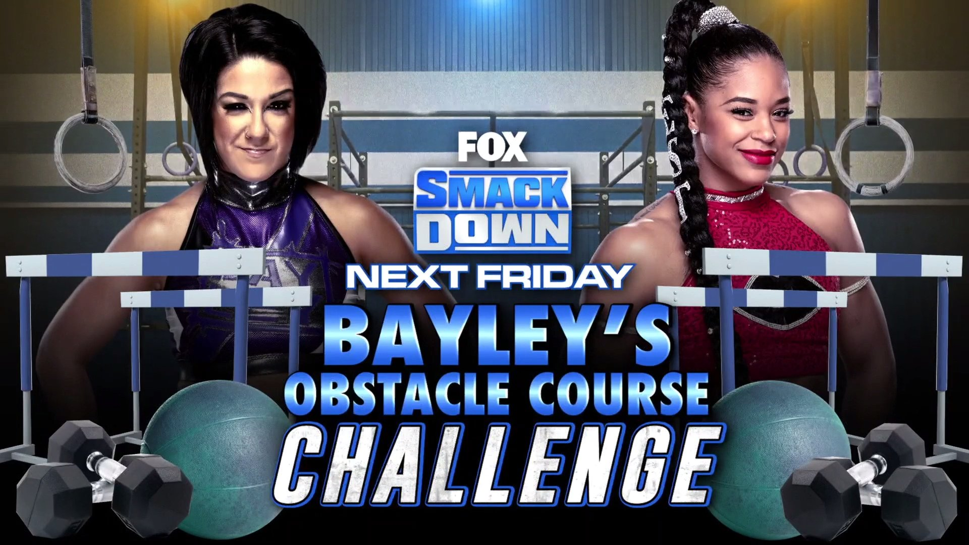 WWE Smackdown: Title Match & Obstacle Challenge Course Announced 2