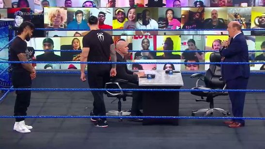 This will end just fine right? #SmackDown